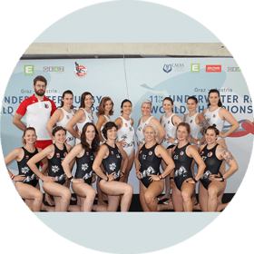 Nationalteam Unterwasserrugby Damen