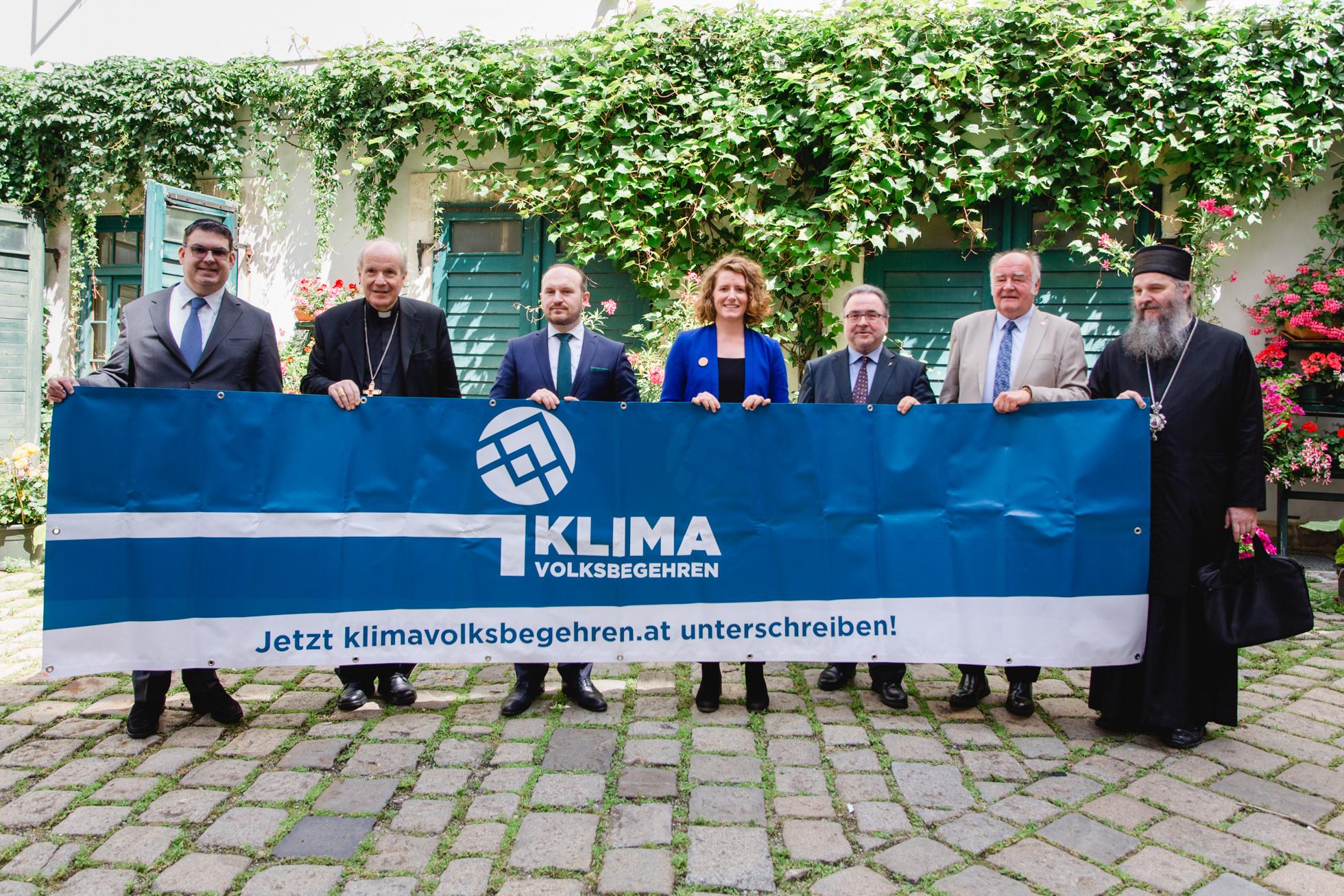 Religionsgemeinschaften unterstützen das Klimavolksbegehren